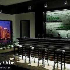 Plafon Orbis: styl , w kategorii Bary i kluby zaprojektowany przez Ekotechnik24.pl - lampy na indywidualne zamówienie