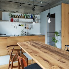 Dining room by .8 / TENHACHI,
