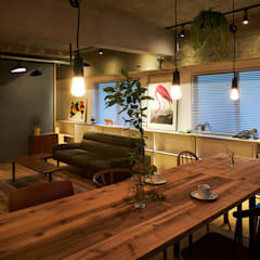 Dining room by .8 / TENHACHI
