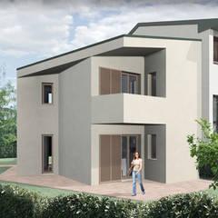 Progetto Ampliamento Villetta a Schiera di testa. : Villa a schiera in stile  di JFD - Juri Favilli Design