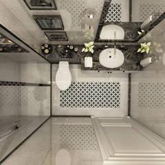 Baños de estilo ecléctico por Levels Studio