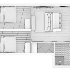 Интерьер модульного здания: Стены в . Автор – BMM