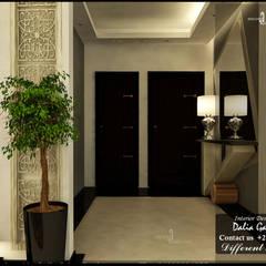الممر والمدخل تنفيذ DeZign center office by Dalia Gaber , إنتقائي