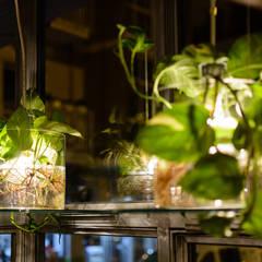 Iluminación: Bares y discotecas de estilo  por Ópera de Domingo