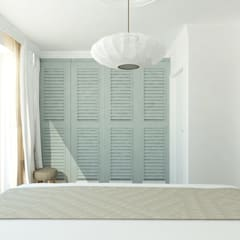 Dom szeregowy, Gdańsk, sypialnia: styl , w kategorii Sypialnia zaprojektowany przez Interior Idea Projektowanie Wnętrz