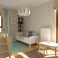 Mieszkanie Gdańsk Wrzeszcz: styl , w kategorii Pokój dziecięcy zaprojektowany przez Interior Idea Projektowanie Wnętrz