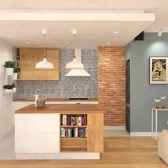 Кухонные блоки в . Автор – Interior Idea Projektowanie Wnętrz,