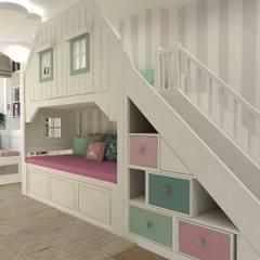 Dom w Essen: styl , w kategorii Pokój dla dziwczynki zaprojektowany przez Interior Idea Projektowanie Wnętrz