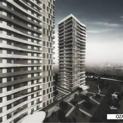 Neon Mimarlık – OZAN TWİN TOWERS:  tarz Dükkânlar