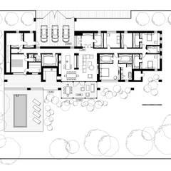 План частного дома: Загородные дома в . Автор – Архитектурная студия Чадо