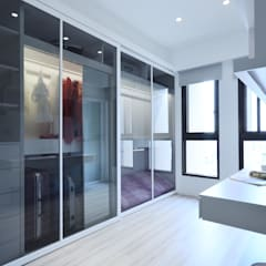 غرفة الملابس تنفيذ 瓦悅設計有限公司