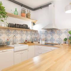 Cocina Abierta: Cocinas de estilo clásico por Ópera de Domingo