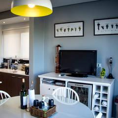 Casa 205: Comedores de estilo  por Papillon Arquitectura