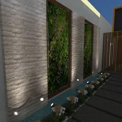 Diseño Oficina Comercial: Garajes abiertos de estilo  por B+ Studio