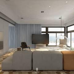Taichung L House :  視聽室 by 質覺制作設計有限公司