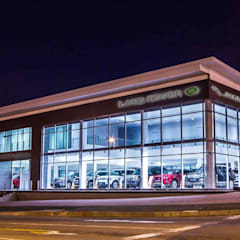 East Cape Motors:  Car Dealerships by Intsika Architects (Pty) Ltd, Modern