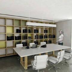 : Escritórios e Espaços de trabalho  por Grupo Norma