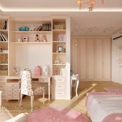Dormitorios infantiles de estilo  por Студия Павла Полынова