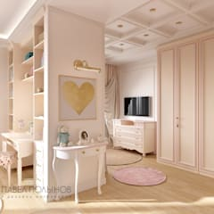 classic Nursery/kid's room by Студия Павла Полынова