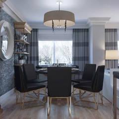 Dining room: Стены в . Автор – KAPRANDESIGN