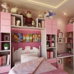 Girls Bedroom by Getto_id
