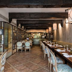 Restaurantes de estilo  por The Workroom