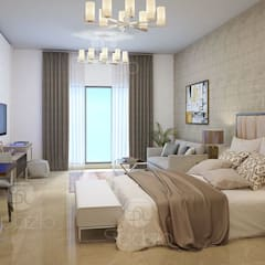 :  غرفة نوم تنفيذ Spazio Interior Decoration LLC