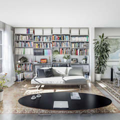 rustieke & brocante Mediakamer door Nghệ nhân Kiến trúc