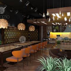 :  بار/ ملهى ليلي  تنفيذ Spazio Interior Decoration LLC,
