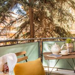 HOME STAGING in zona Talenti – CASA IN VENDITA: Terrazza in stile  di Flavia Case Felici