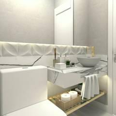 Bathroom by Letícia Saldanha Arquitetura