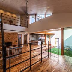 Living Room3: STaD(株式会社鈴木貴博建築設計事務所)が手掛けたリビングです。