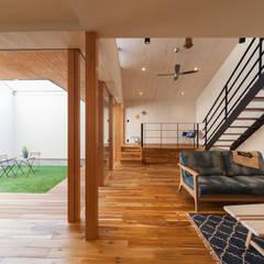 ห้องนั่งเล่น by STaD(株式会社鈴木貴博建築設計事務所)