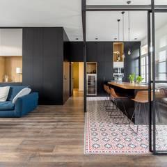 Kitchen by Brengues Le Pavec architectes