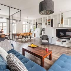 SBL: Salon de style  par Brengues Le Pavec architectes