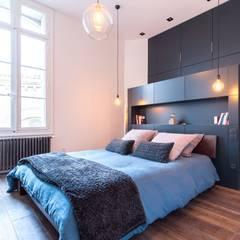 SBL: Chambre de style de style Minimaliste par Brengues Le Pavec architectes