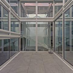 RUX: Jardin de style  par Brengues Le Pavec architectes, Minimaliste