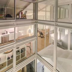 RUX: Fenêtres de style  par Brengues Le Pavec architectes