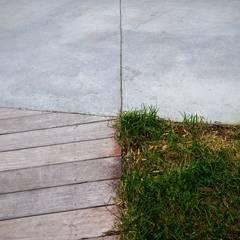 HRT: Jardin de style  par Brengues Le Pavec architectes, Minimaliste