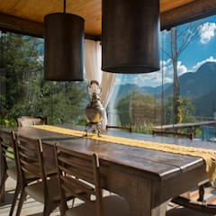 Dining room by Giselle Wanderley arquitetura, Country