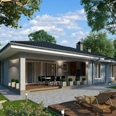 Casas de campo de estilo  por Vesco Construction