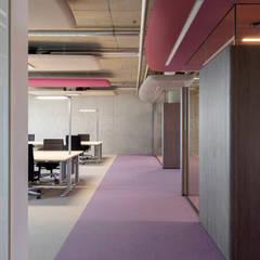 Farbwelt lotus:  Bürogebäude von Andreas Weber Design