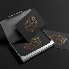 Business cards: Espaços de restauração  por Think Bold Studio