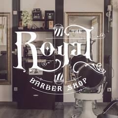 Logo for Royal Barber Shop: Lojas e espaços comerciais  por Think Bold Studio