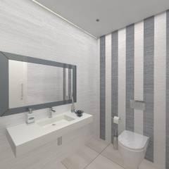 I.S. Social : Casas de banho  por Enzo Rossi, Home Design