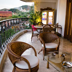 Apartamento Aristizabal - Alviar / Parte 1: Terrazas de estilo  por Tejero & Ángel Diseño de Interiores