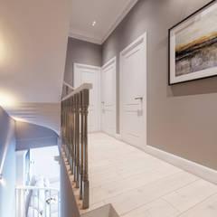 Дизайн-проект в КП Кембридж, 80 кв. м. (120 кв. м.): Коридор и прихожая в . Автор – Loft&Home