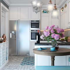 France Kvartal:  Built-in kitchens by Space Options