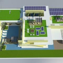 Casa Barranquilla: Casas de estilo  por Heritage Design Group, Minimalista