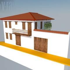 Casa Barichara: Casas de estilo  por Heritage Design Group